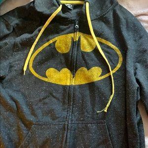 Batman zip up hoodie